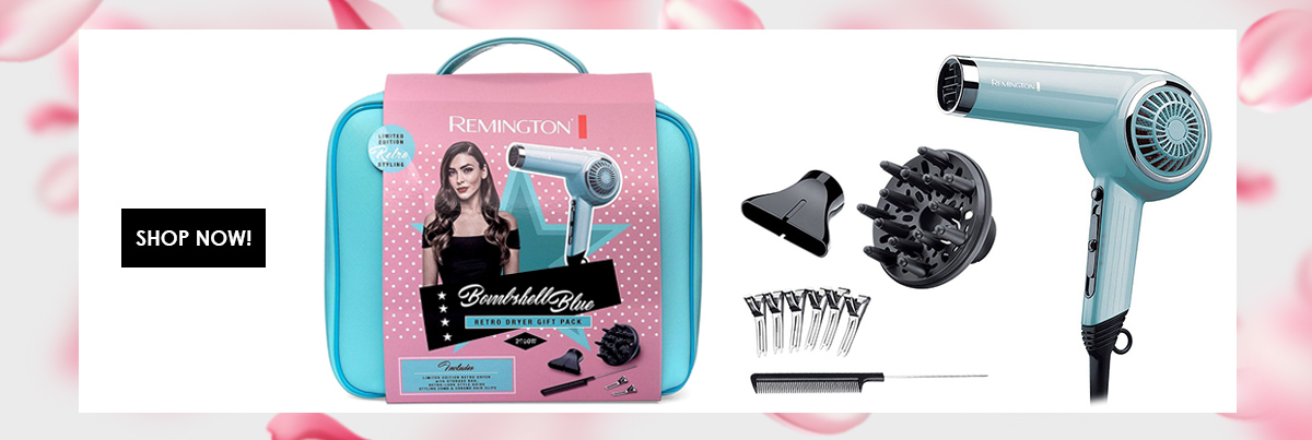 Remington Gift Pack - Retro Hairdryer