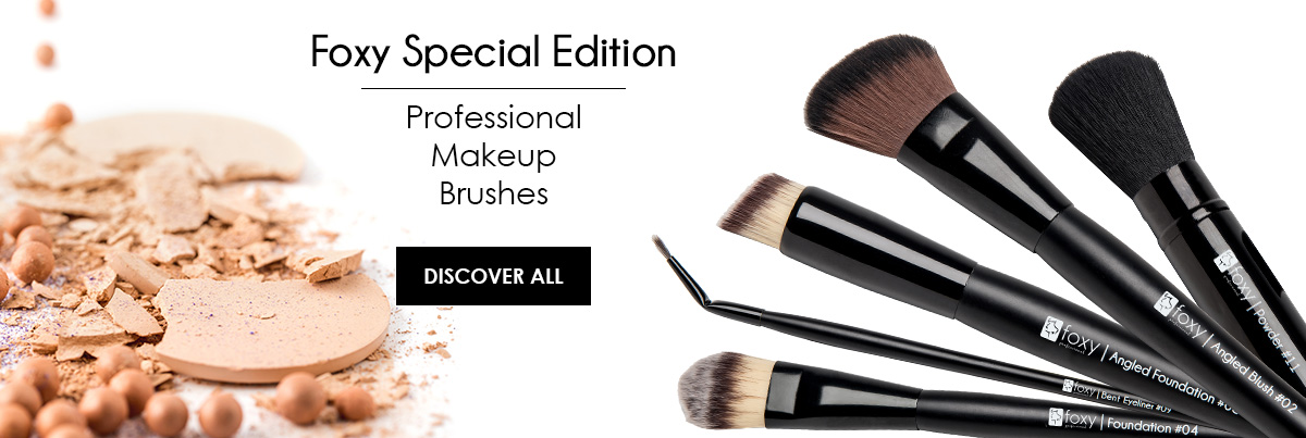 Professional Make Up Brushes Foxy Special Edition