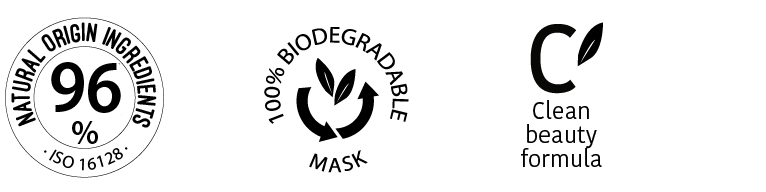 Clean Beauty - Natural Ingredients - Biodegradable Face Mask